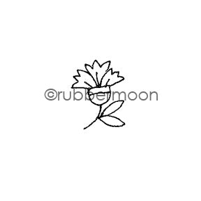 Jone Hallmark | JH7533A - Carnation - Rubber Art Stamp