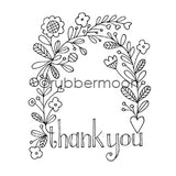 Jone Hallmark | JH7548J - Thank You Arbor - Rubber Art Stamp