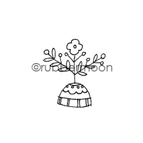 Jone Hallmark | JH7558C - Tiny Topper - Rubber Art Stamp