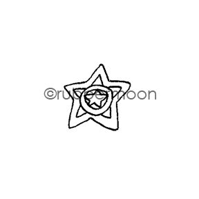 Jone Hallmark | JH7566B - Star Bright - Rubber Art Stamp
