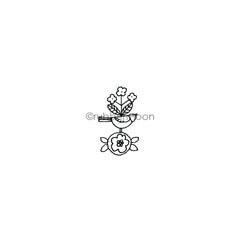 Jone Hallmark | JH7639C - Bird Bit - Rubber Art Stamp