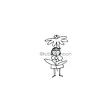 Jone Hallmark | JH7659E - Take Clover - Rubber Art Stamp