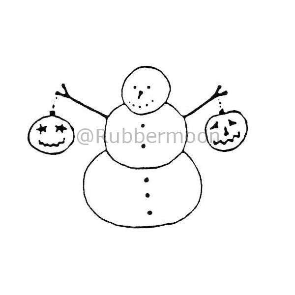 Joanna Taylor | JT201D - My Pumpkins! - Rubber Art Stamp