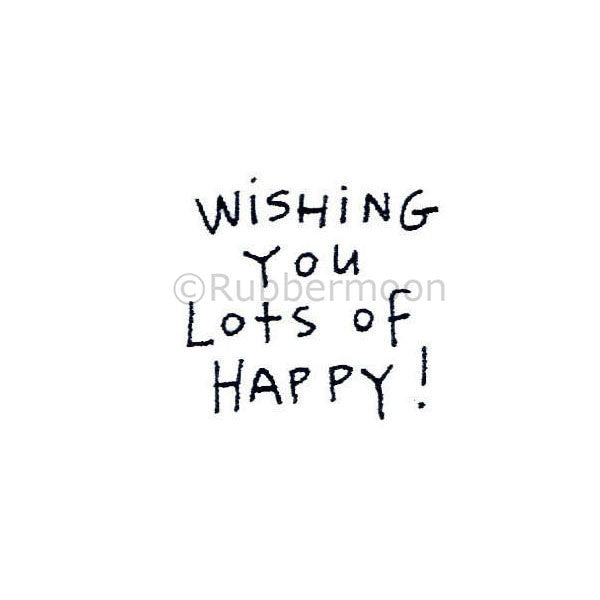 wishing you lots of happy