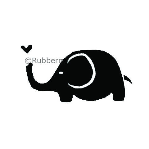 Eluvphant - KP5064C - Rubber Art Stamp