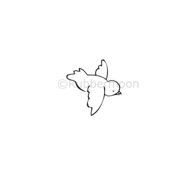Milagros | Tweet Bird (R) - KP5272C  - Rubber Art Stamp