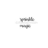 Kae Pea | KP5296C - Sprinkle Magic - Rubber Art Stamp