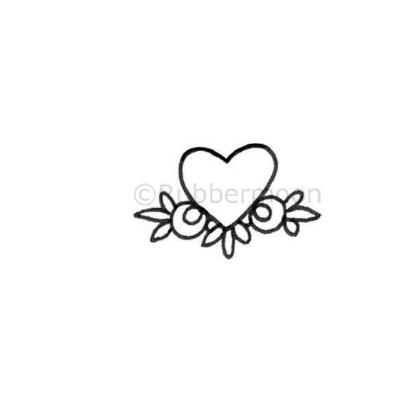 Milagros | Catrina's Heart - KP5303D - Rubber Art Stamp