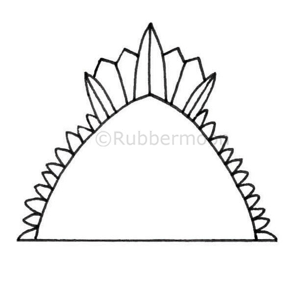Milagros | Shrine Top - KP5348G - Rubber Art Stamp
