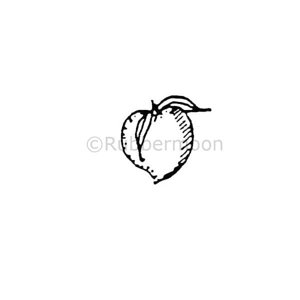 Little Peach - MK164A - Rubber Art Stamp