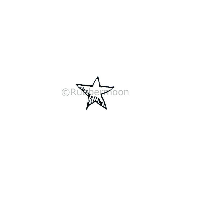 Marylinn Kelly | MK166A - Shiny Star - Rubber Art Stamp