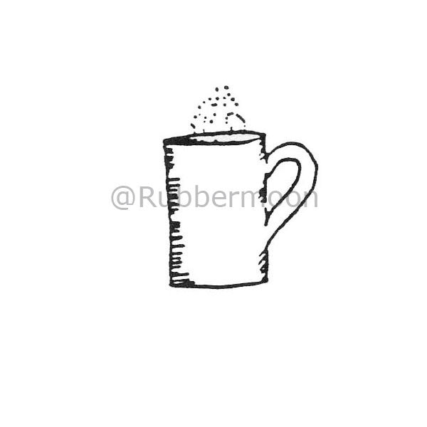 Marylinn Kelly | MK196A - Hot Cocoa - Rubber Art Stamp