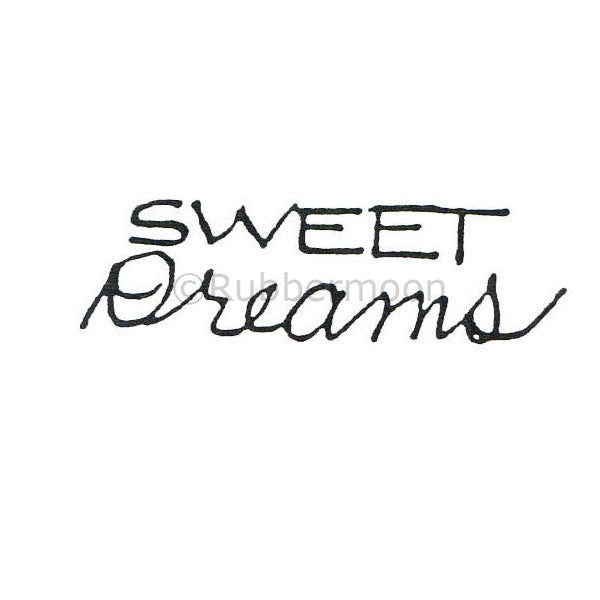 Marylinn Kelly | MK270C - Sweet Dreams - Rubber Art Stamp