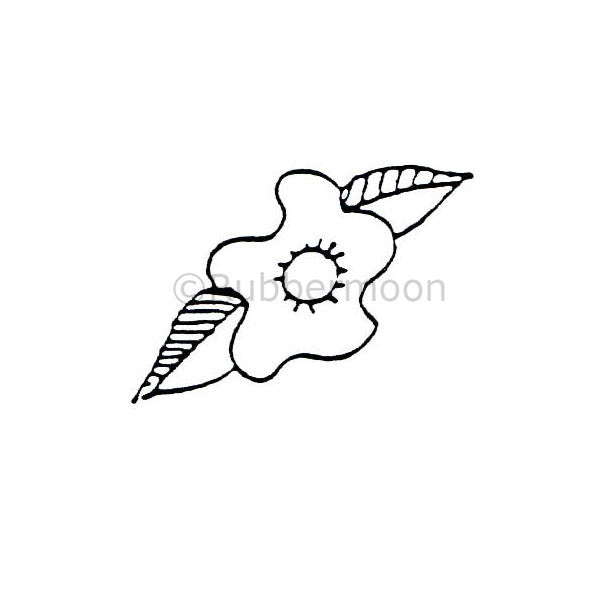 Marylinn Kelly | MK281C - Single Flower - Rubber Art Stamp
