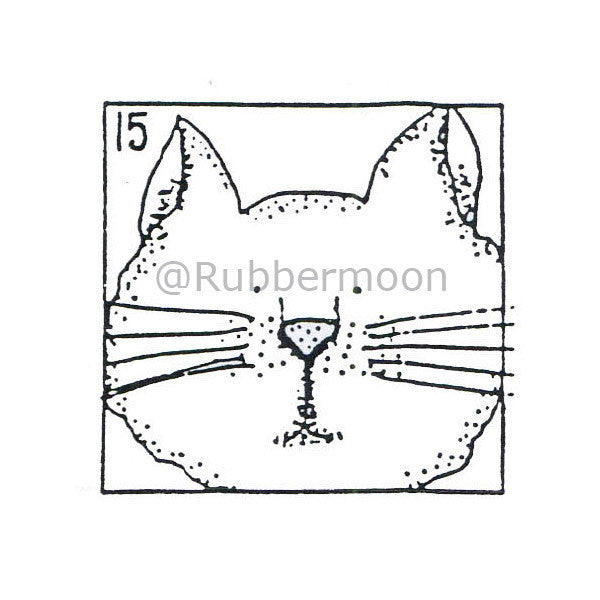 Marylinn Kelly | MK375D - Mr. D - Rubber Art Stamp