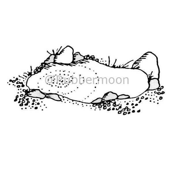 Hayden Pond - MK4603D - Rubber Art Stamp