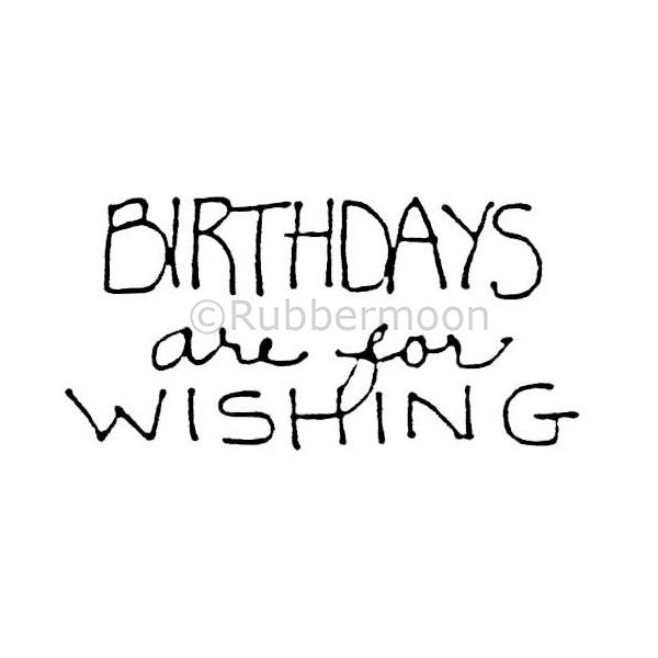 "mk465 - ""birthdays are for wishing"""