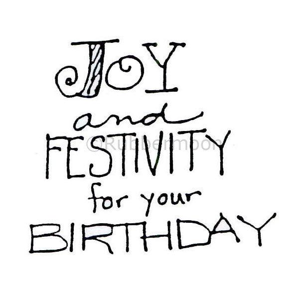 "mk583 - ""joy and festivity for your birthday"""