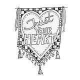 trust your heart banner