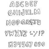 alphabet (puffy letters)