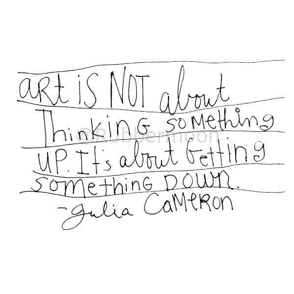 Mindy Lacefield - Cameron Quote - ML203G - Rubber Art Stamp