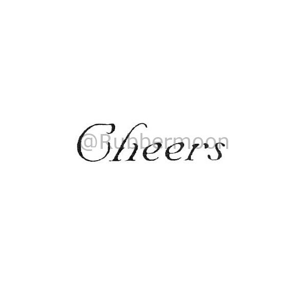 Cheers - RM2274A - Rubber Art Stamp