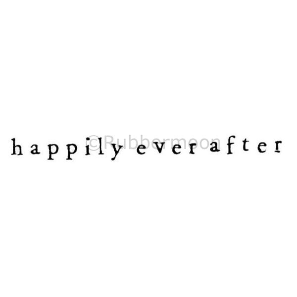 "Debra Valoff | RM2399C - ""Happily Ever After"" - Rubber Art Stamp"