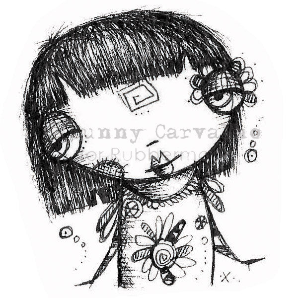 Sunny Carvalho | SC116G - Pixie Dust - Rubber Art Stamp