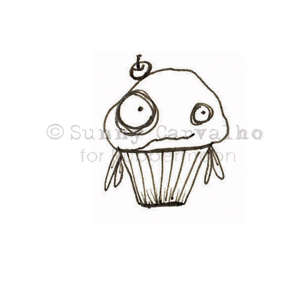 Sunny Carvalho | SC5226C - Joe - Rubber Art Stamp