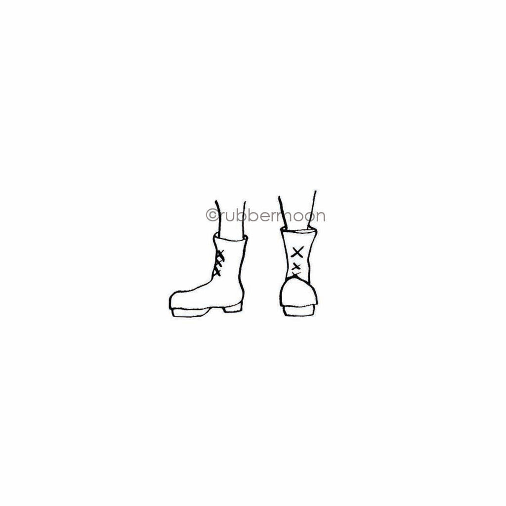 Sunny Carvalho | SC7788E - Boots - Rubber Art Stamp