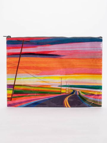 Blue Q | Sunset Highway Jumbo Pouch