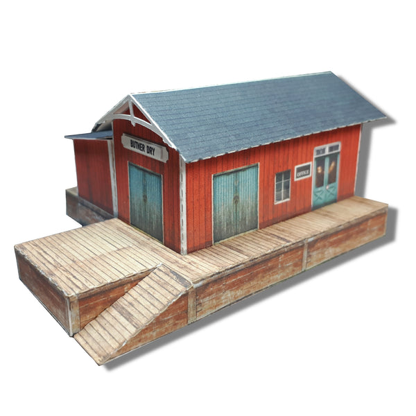 Freight Depot - Weathered Wood - CustomZscales