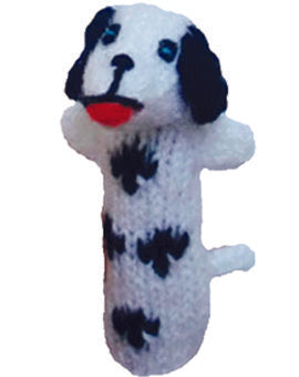 Dalmatian Dog Finger Puppet Book Mark