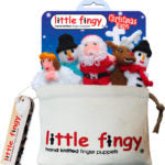 Christmas Finger Puppet Gift Bag