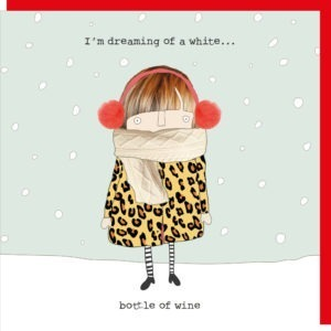 White Wine Christmas Box.      Pack of 8 Cards