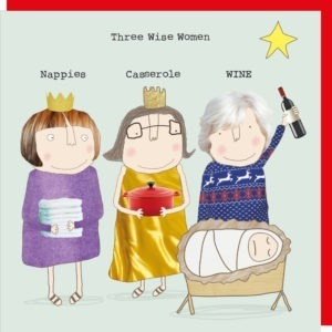 Three Wise Women Christmas Box.      Pack of 8 Cards