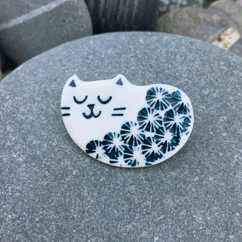 Handmade Ceramic Brooch