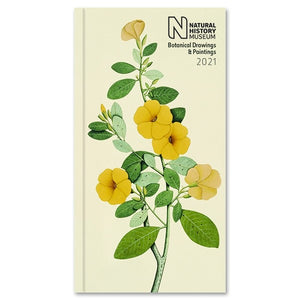 Natural History Museum Botanical Slim Diary