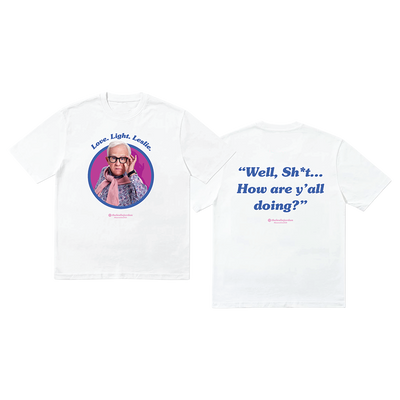 Well Shit Tee - White