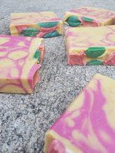 Load image into Gallery viewer, Strawberry Basil Lemonade Handmade Soap