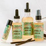 Vanilla Body Oil | Natural Skincare