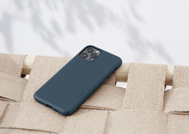 Nudient - Thin iPhone XS Case V3 - Midwinter Blue