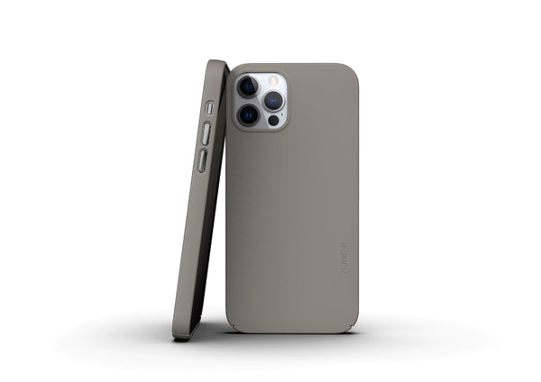 Nudient - Thin iPhone 12 Pro Case V3 - Clay Beige