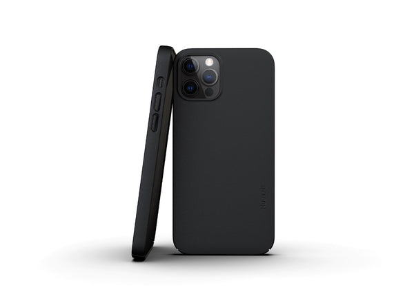 Nudient - Thin iPhone 12 Pro Case V3 - Ink Black