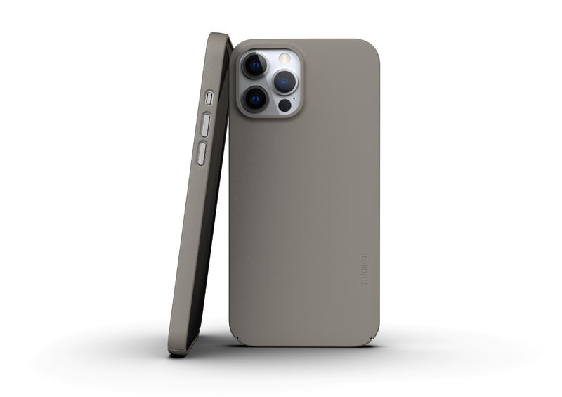 Nudient - Thin iPhone 12 Pro Max Case V3 - Clay Beige
