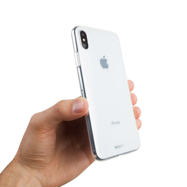 Thin glossy iPhone XS Max case 6.5 - 100% transparent
