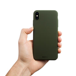 Thin iPhone XS Max Case V2 - Majestic Green