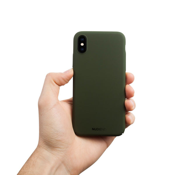Thin iPhone X Case V2 - Majestic Green