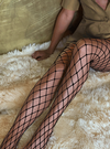 Stems Black fishnet large