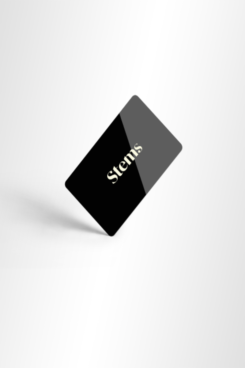 Stems gift card